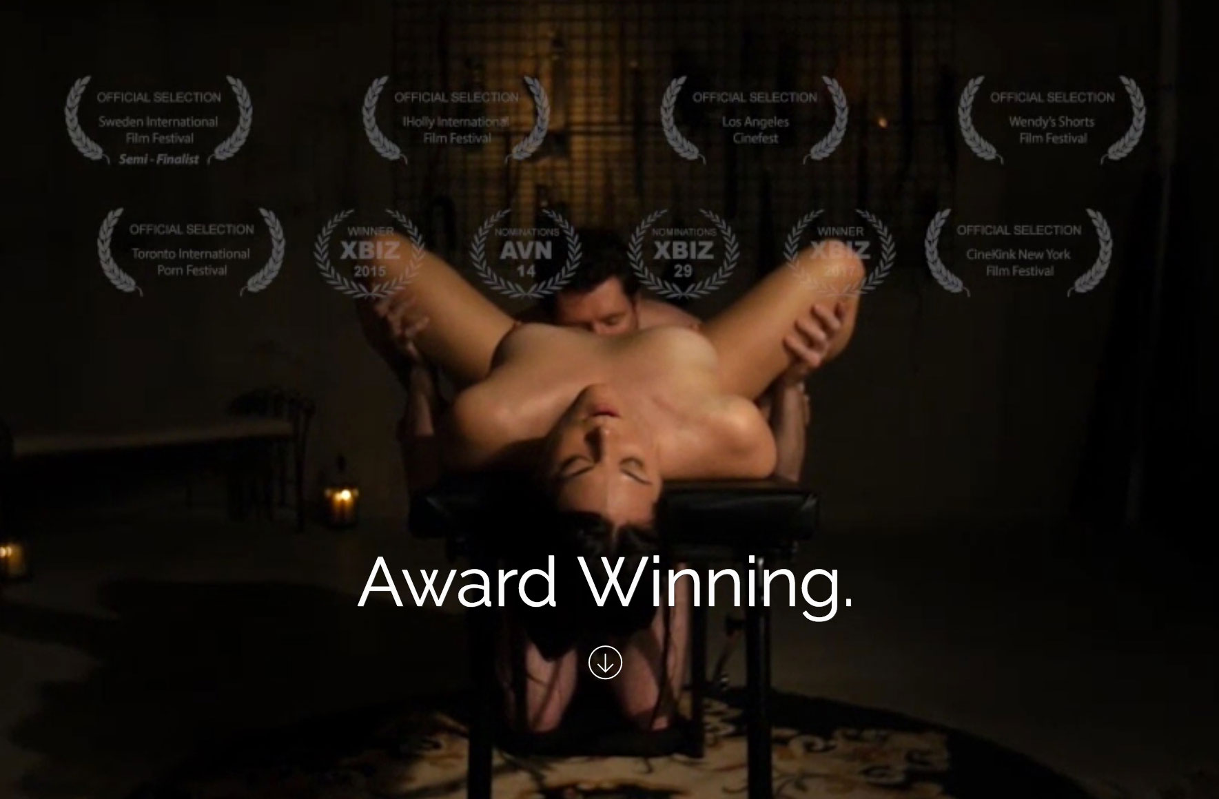 Adult Cinema Porn sssh - award-winning porn for women & couples